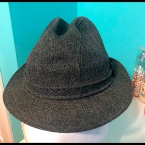 Biltmore gray  Fedora style hat